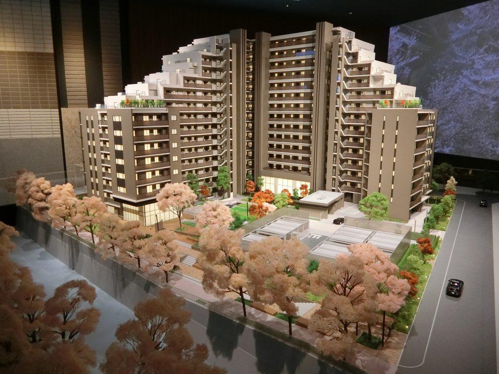 アトラス加賀の完成予想模型