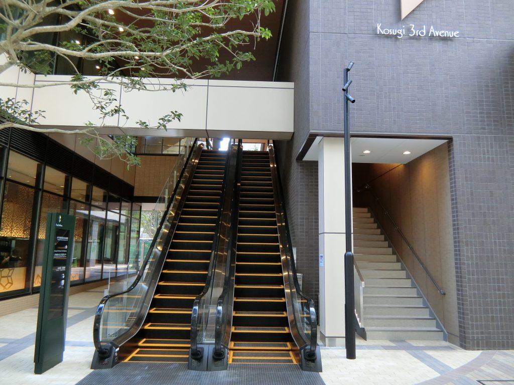 「コスギ サード アヴェニュー」(Kosugi 3rd Avenue)の施設部分