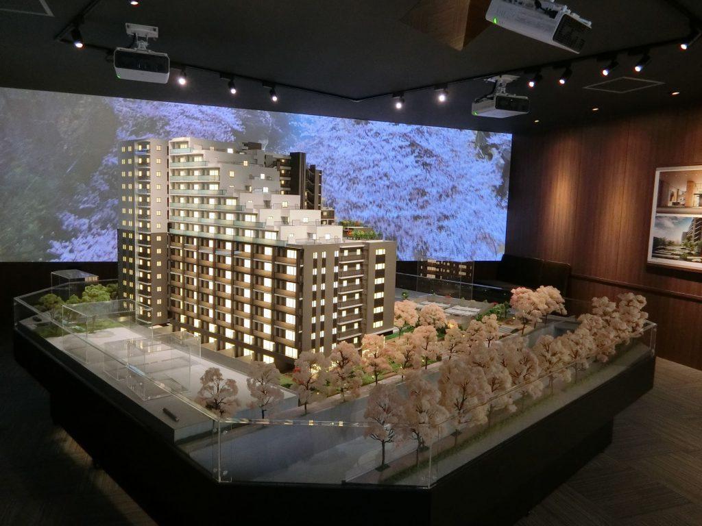 「アトラス加賀」の完成予想模型