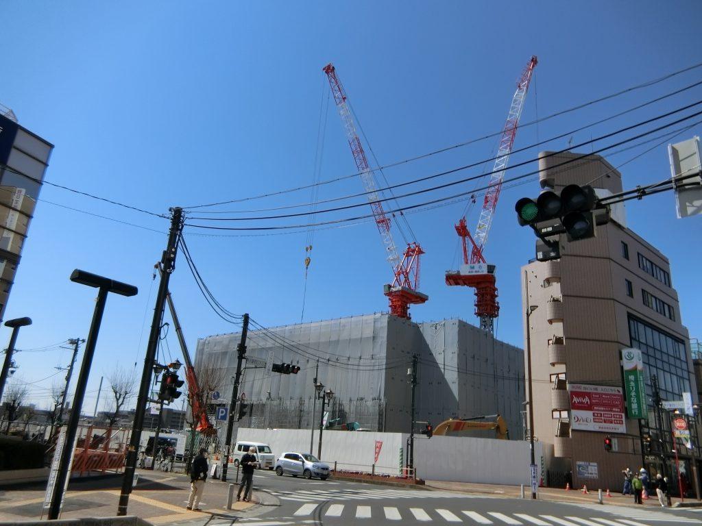 「シティタワー所沢クラッシィ」の開発地