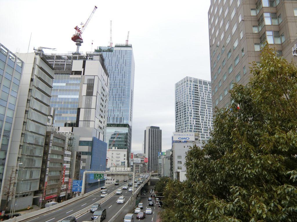 大規模な再開発工事が進む「渋谷」駅界隈