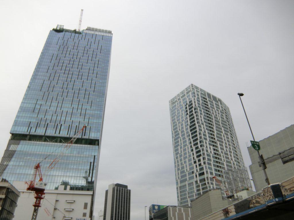再開発が進む渋谷駅前(平成31年3月)
