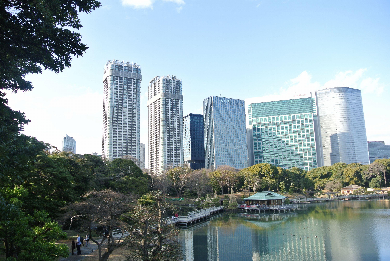 「東京ツインパークス」職住近接のタワーレジデンス