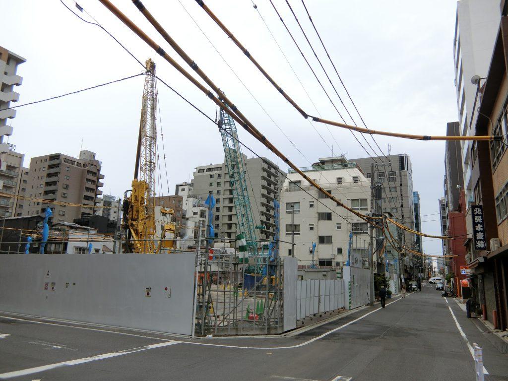 「(仮称)築地6丁目プロジェクト」の建設地