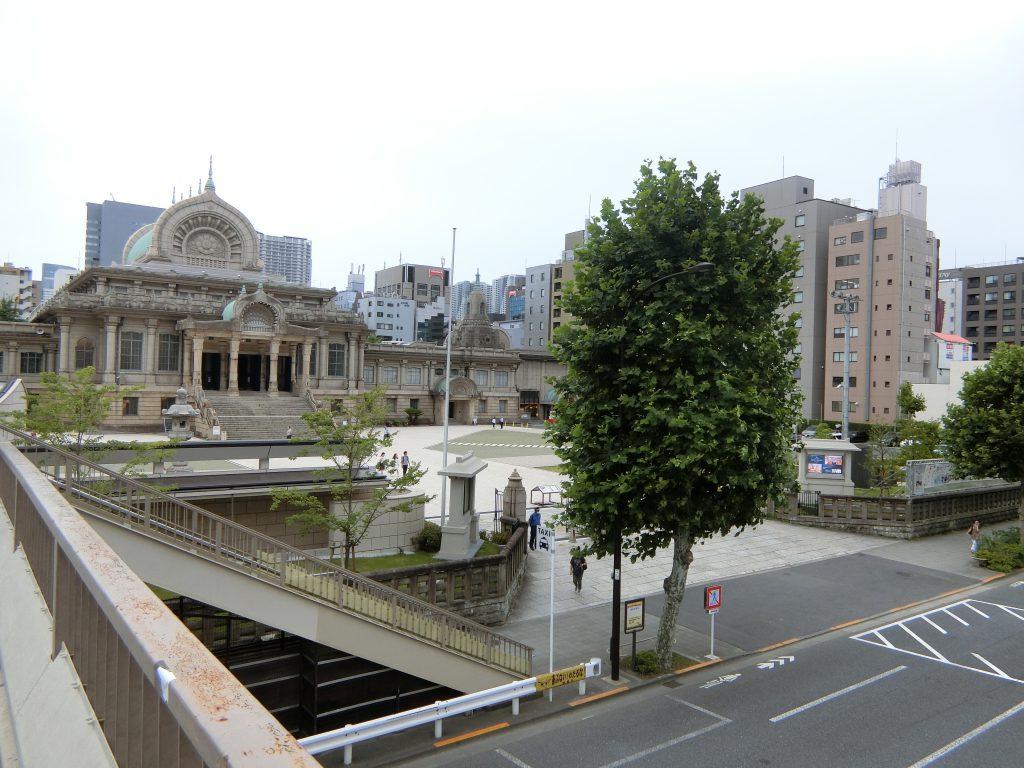 (仮称)築地6丁目プロジェクトの現地は、築地本願寺のある「築地」駅から3分
