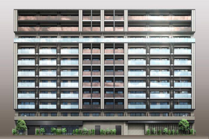 「(仮称)築地6丁目プロジェクト」の外観イメージ