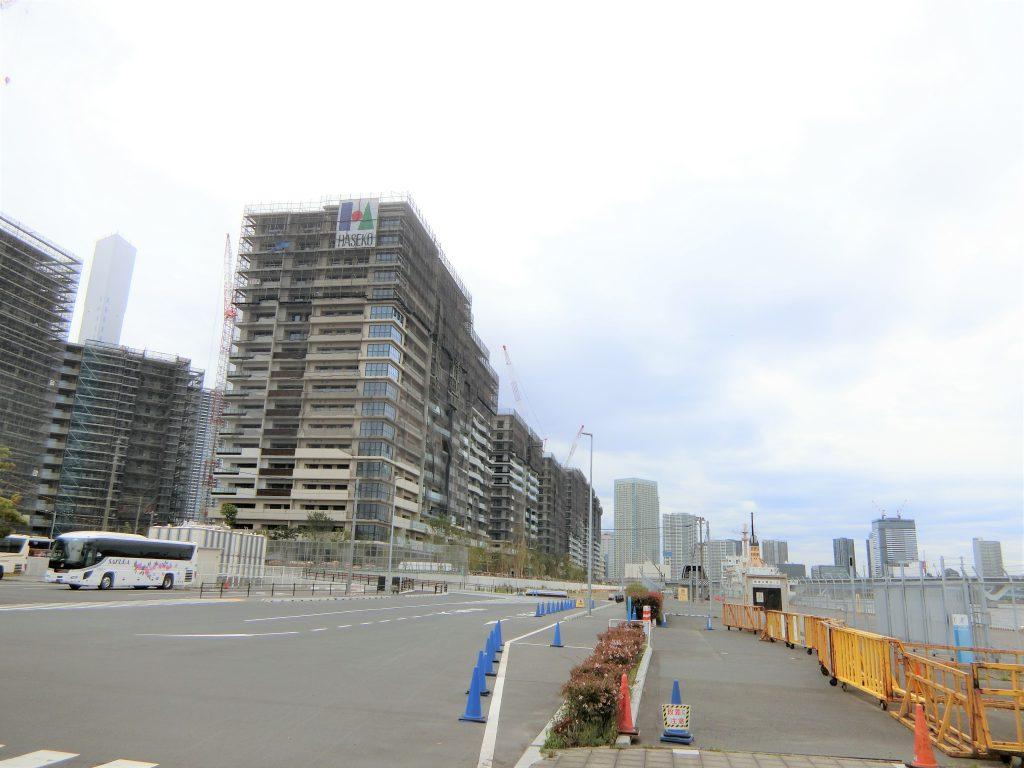 「HARUMI FLAG]のSEA VILLAGE の建設地
