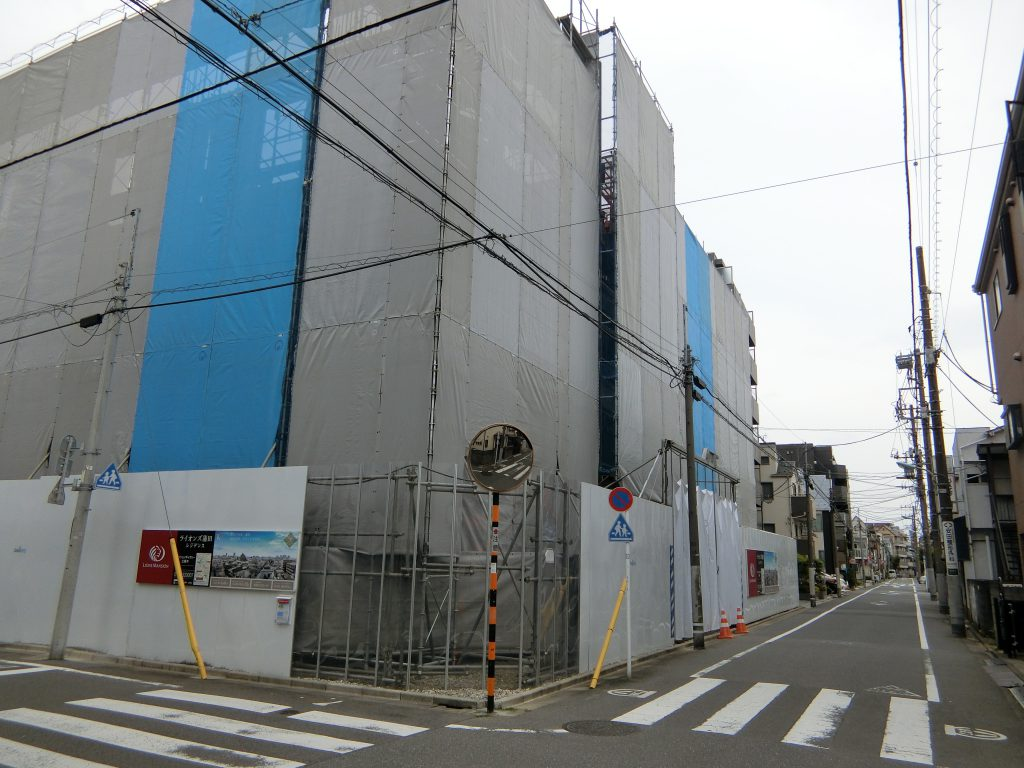 「ライオンズ蒲田レジデンス」の現地