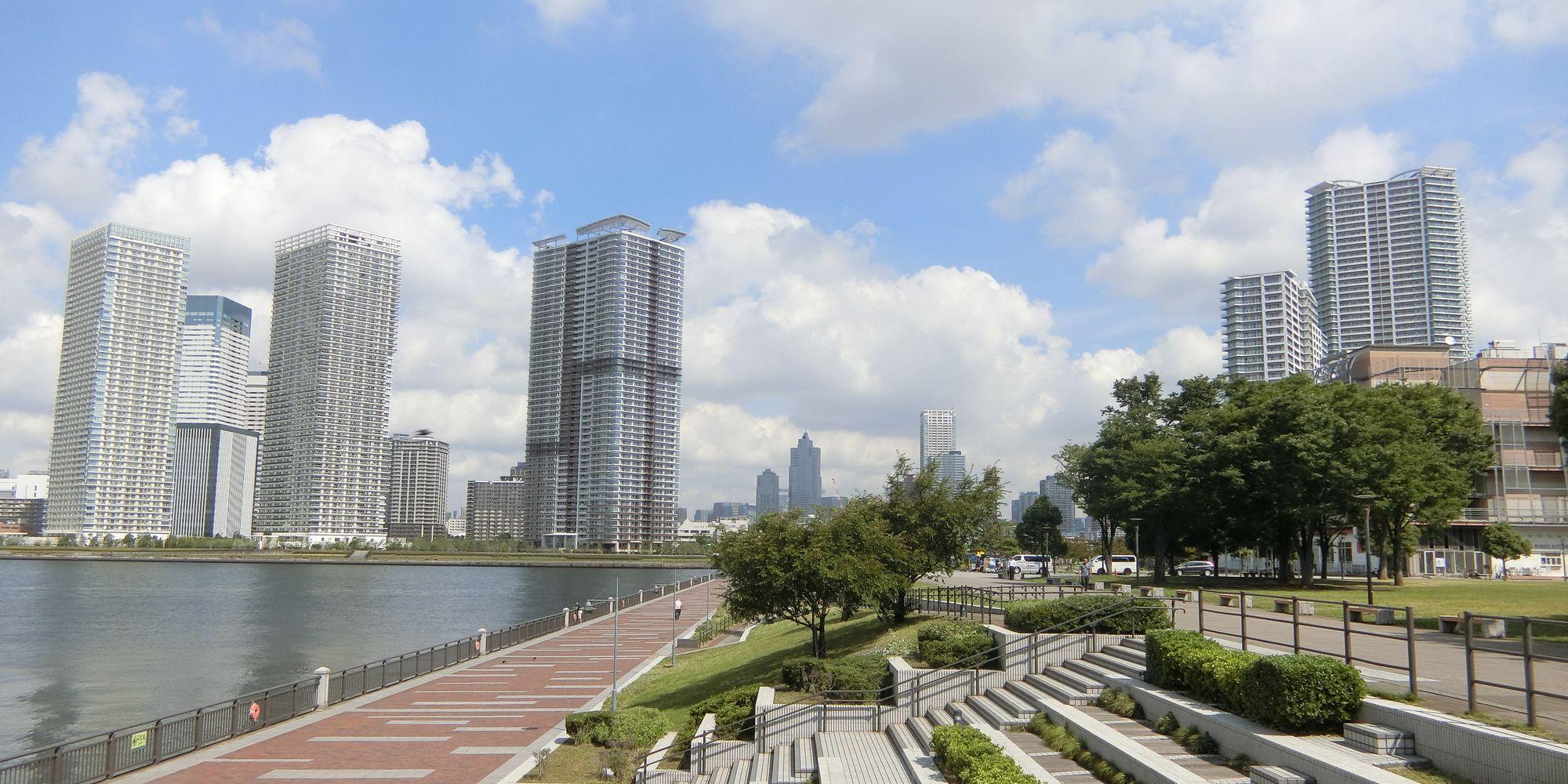 東京湾岸エリアの風景