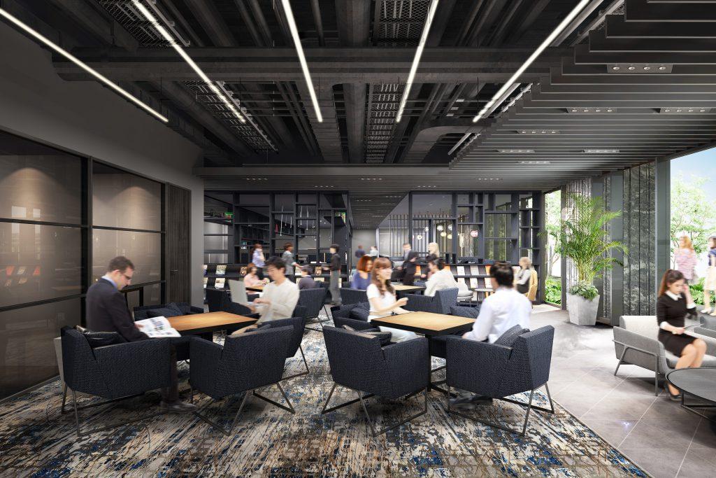 「ビジネスエアポート渋谷フクラス シェアワークプレイスのイメージ」提供元:東急不動産株式会社