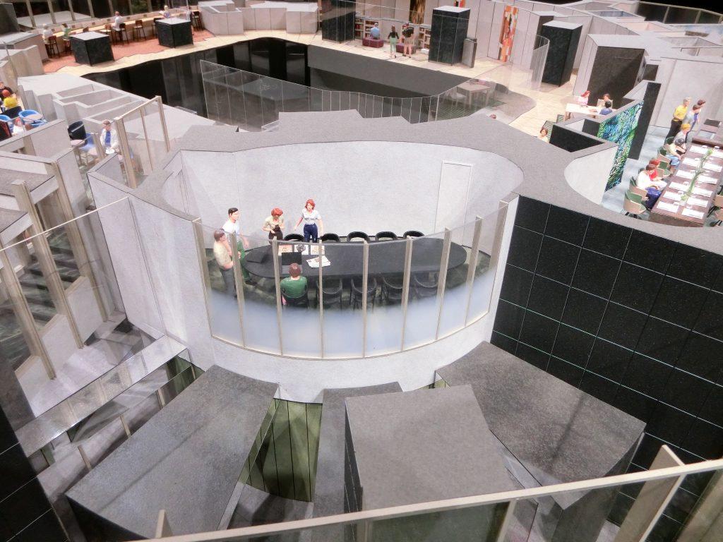 「パークコート渋谷ザ タワー」の共用部完成予想模型