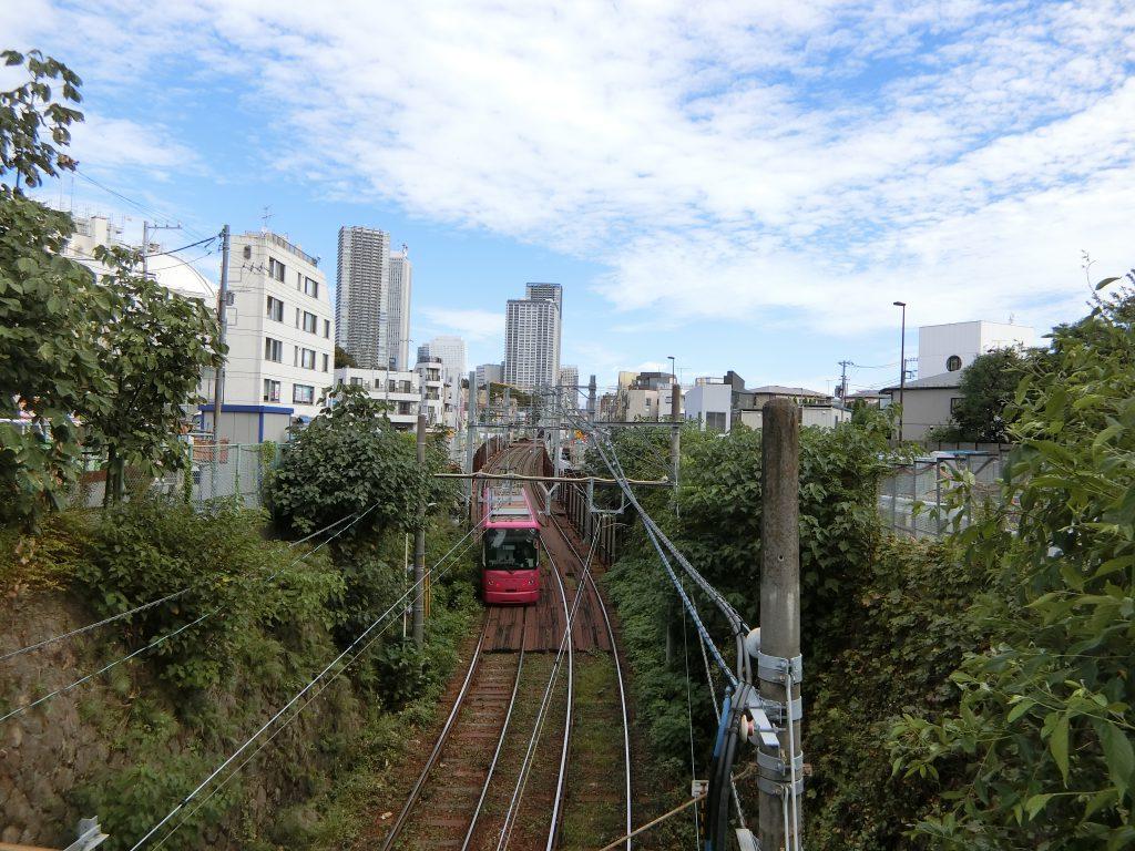 上昇率都内1位の「豊島区高田」の近くの千登世橋から東池袋方面を望む