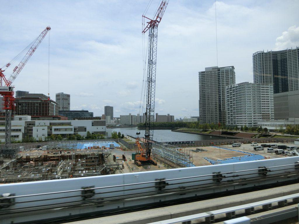 「ブランズタワー豊洲」の建設地