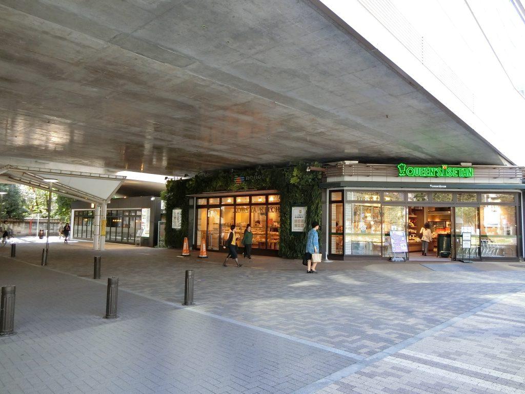 「武蔵境」駅の高架下