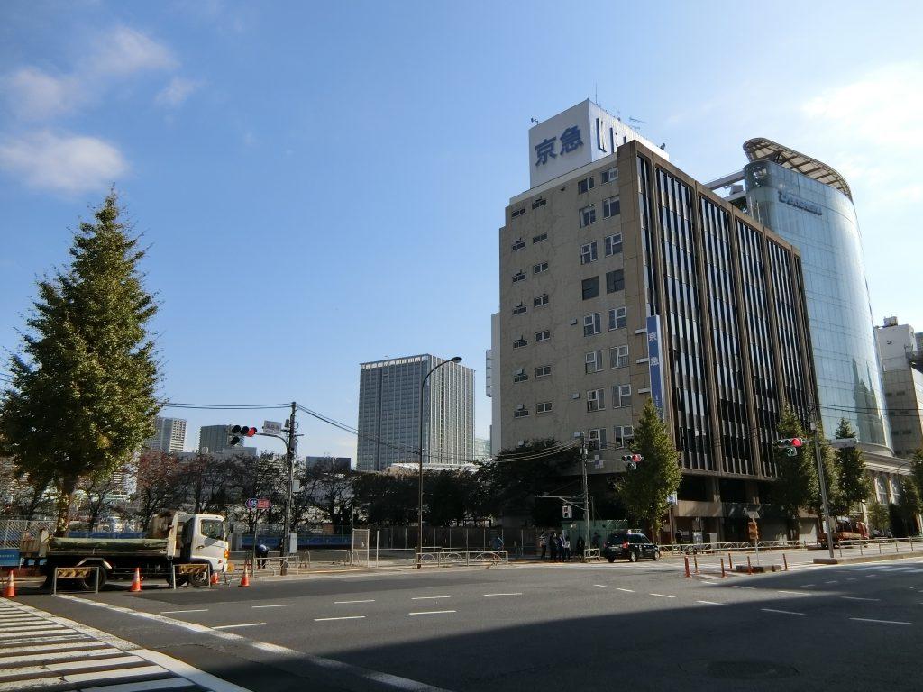 「泉岳寺」駅前