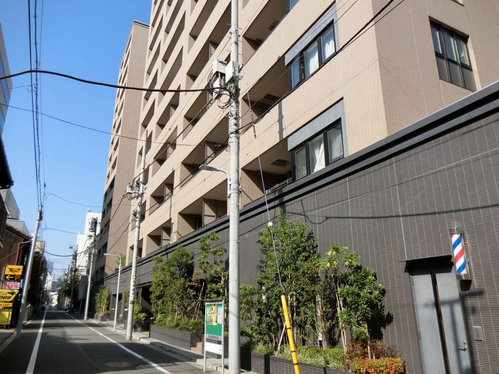 「ザ・パークハウス 上野」の外観