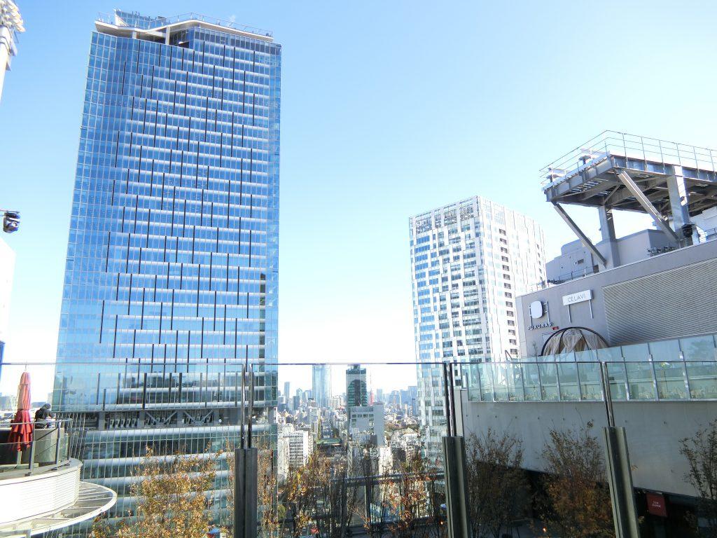 17階の「SHIBU NIWA」と景色
