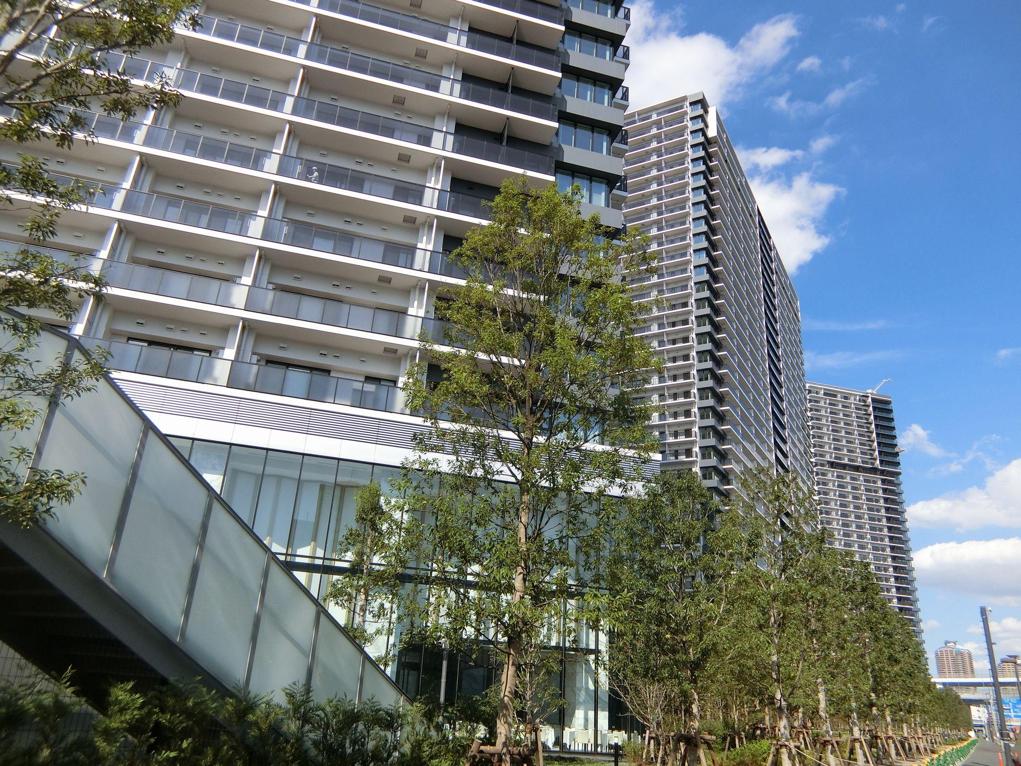 「シティタワーズ東京ベイ」の外観