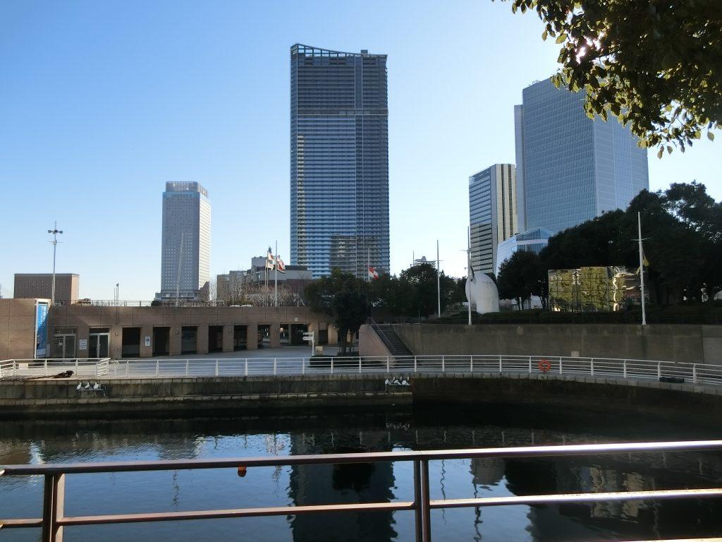 建設中の「ザ・タワー横浜北仲」