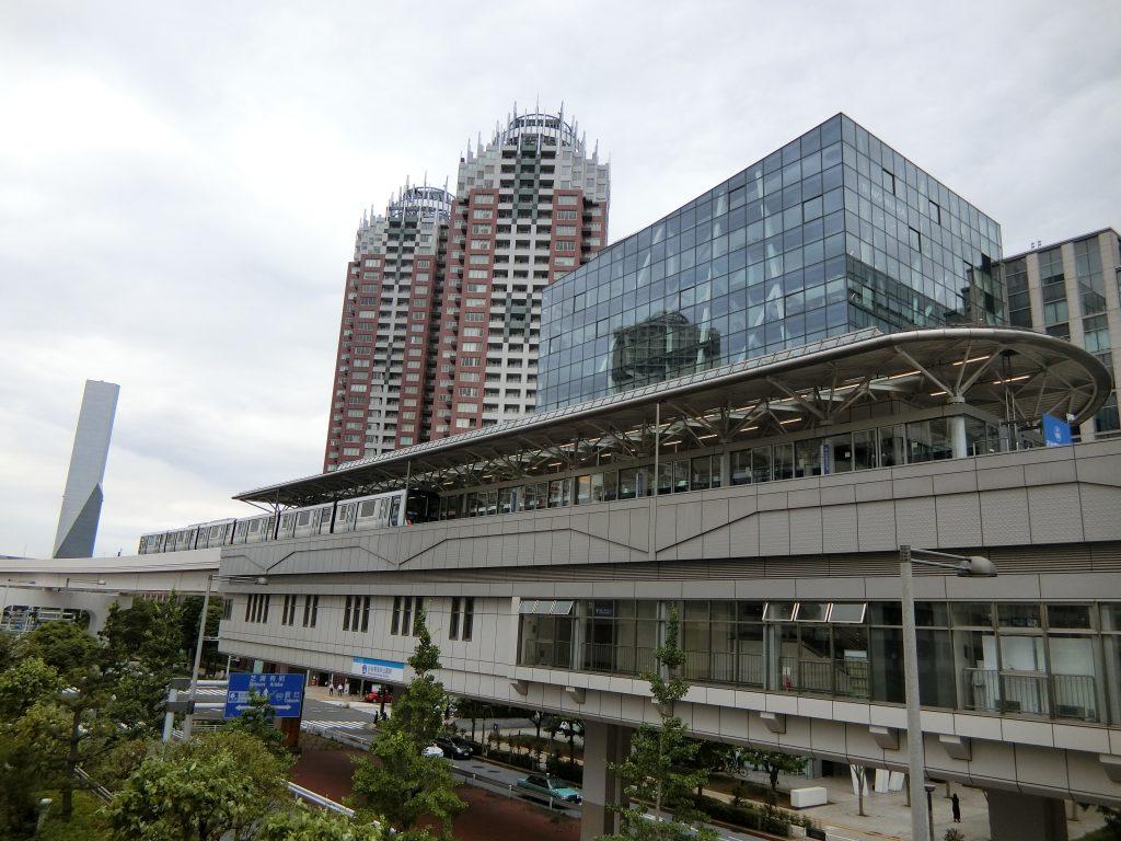 ゆりかもめ線「お台場海浜公園」駅