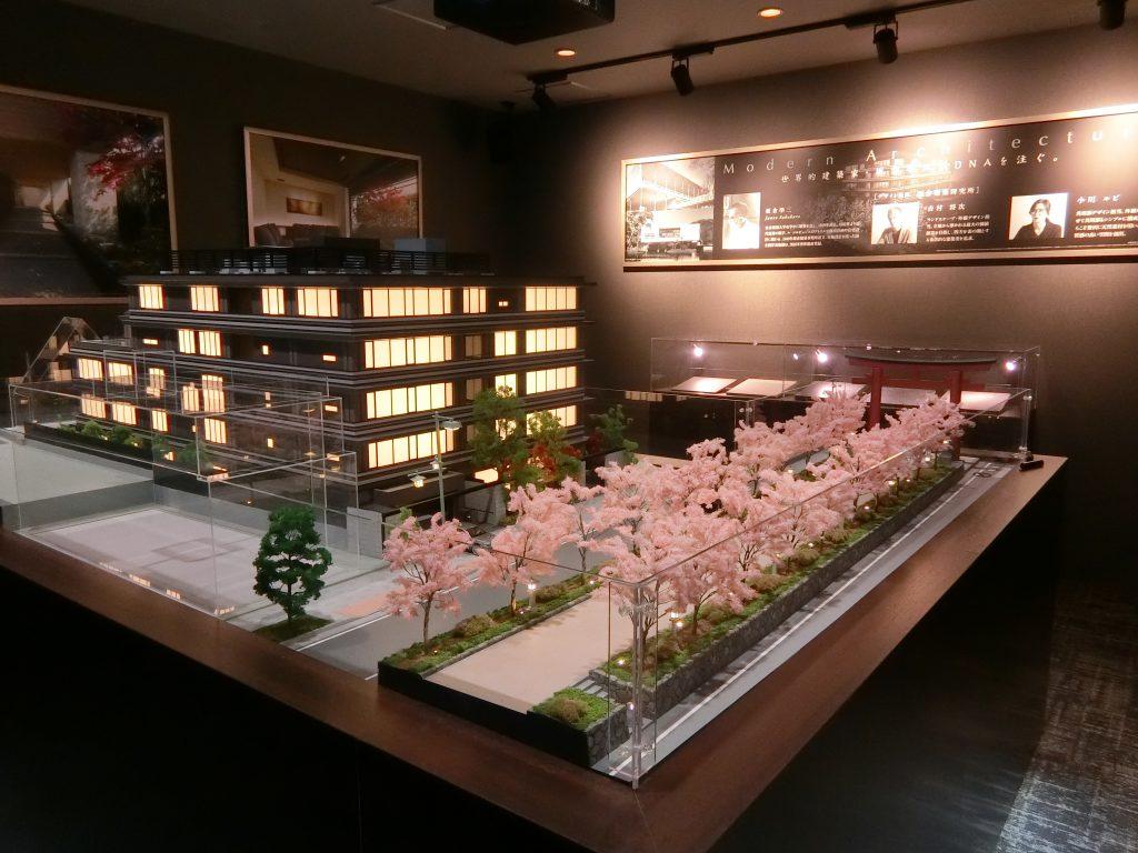 「ザ・パークハウス 鎌倉」の完成予想模型