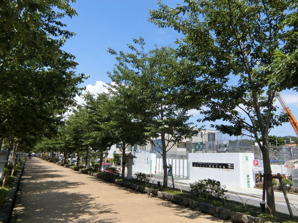 「ザ・パークハウス 鎌倉」の建設地