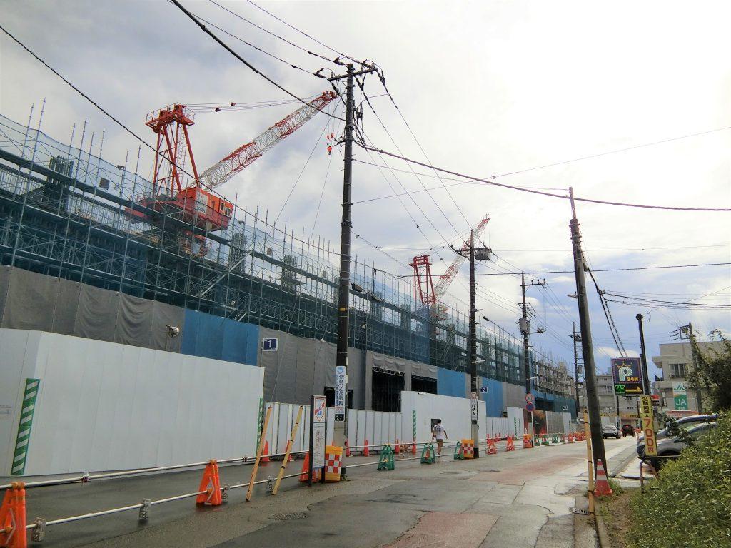 「ライオンズ横濱瀬谷ステーションスクエア」の建設地