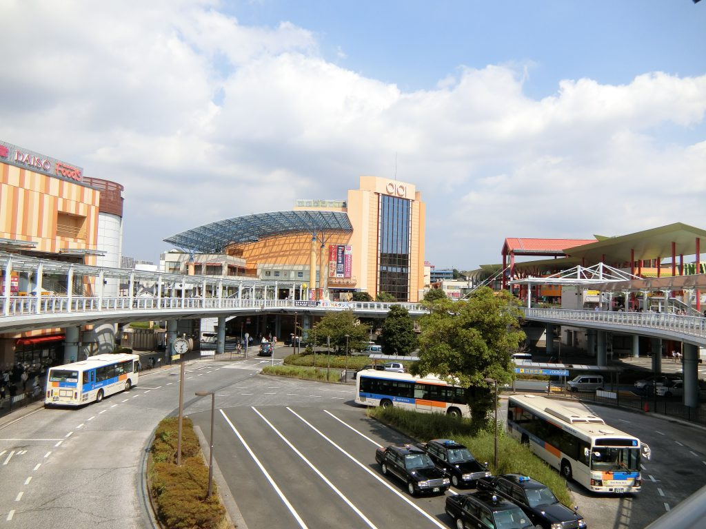 ビナウォーク、マルイファミリーなど多彩な商業施設が揃う「海老名」駅東口