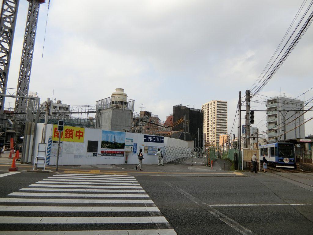 「プラウドタワー東池袋ステーションアリーナ」の建設地