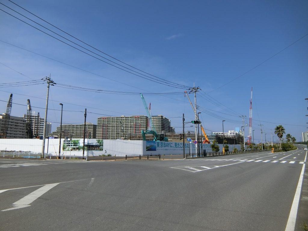 「ザ・パークハウス 新浦安マリンヴィラ」の建設地