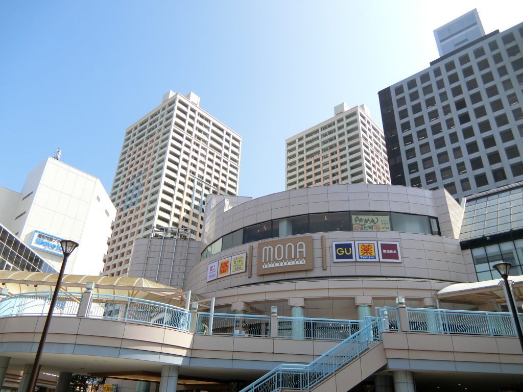 「新浦安」駅前