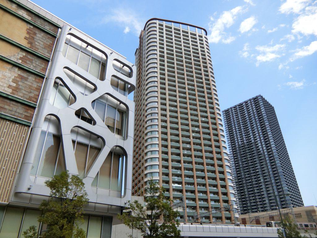 武蔵小杉駅前のタワーマンション群