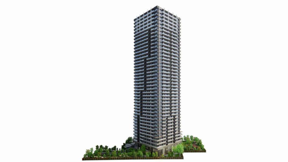 「NAGOYA the TOWER」の外観完成予想図