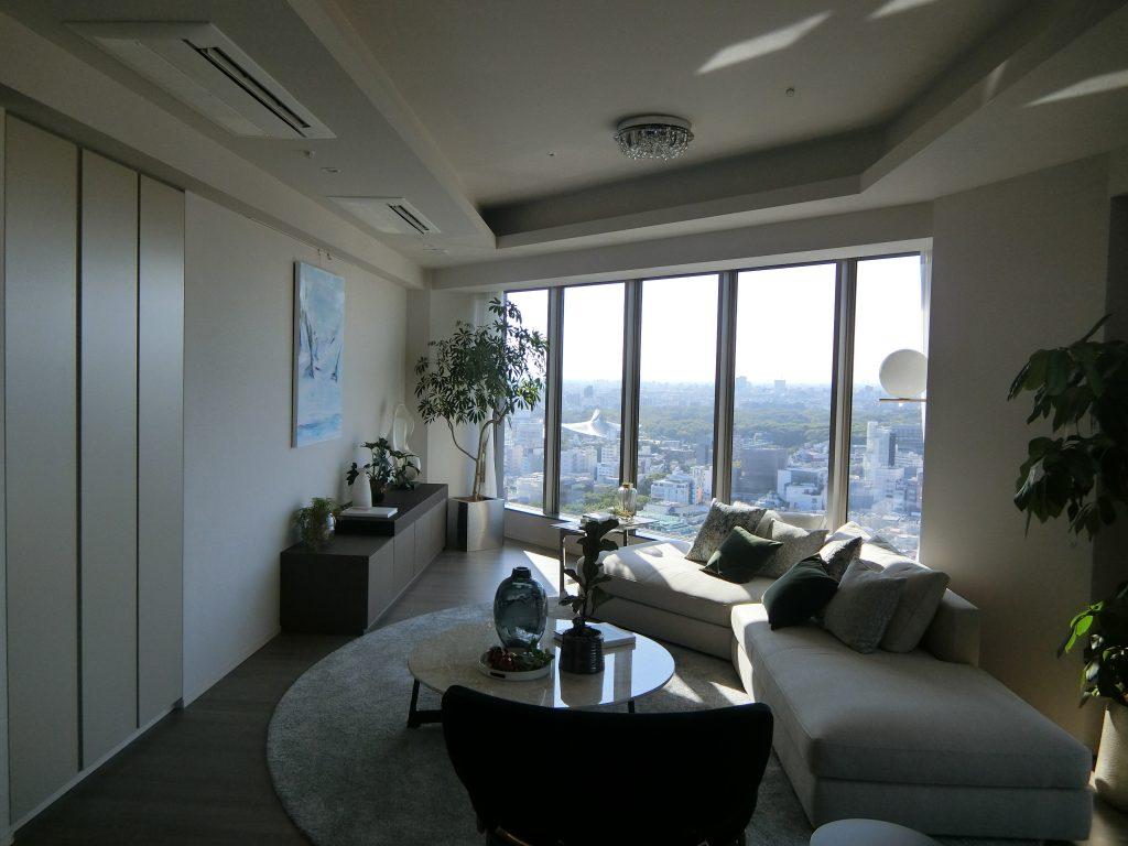 24階のモデルルーム