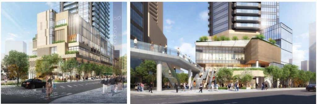 「西麻布三丁目北東地区第一種市街地再開発事業」の開発イメージ(計画段階のもので変更になる可能性があります)