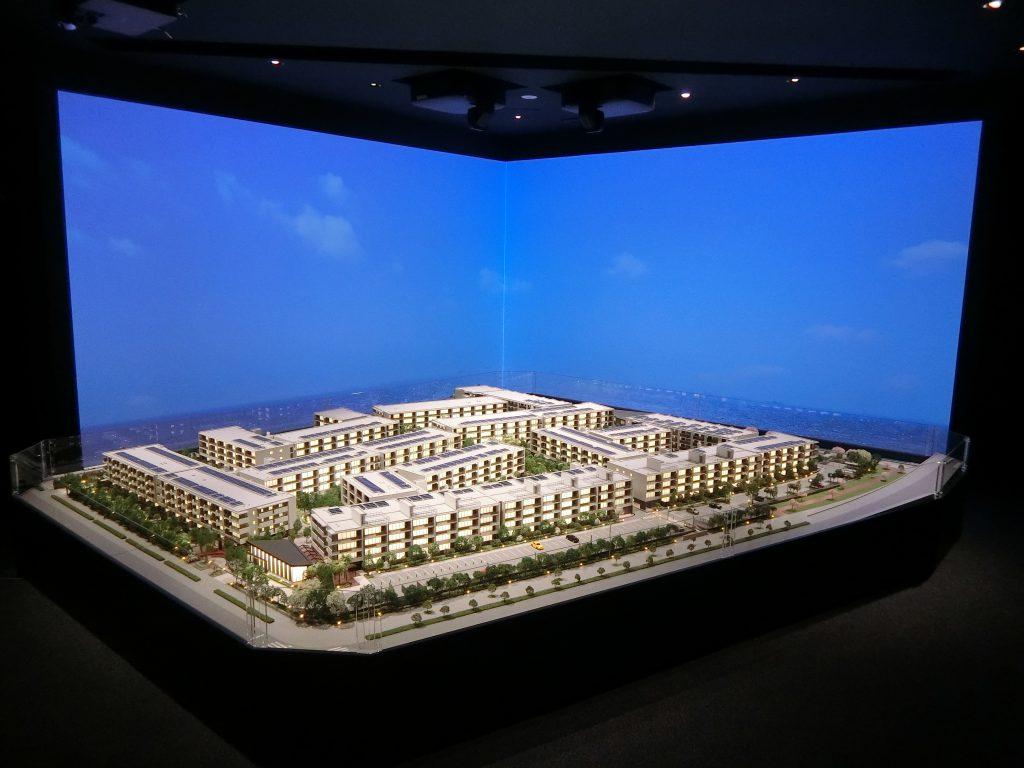 「ザ・パークハウス 新浦安マリンヴィラ」の完成予想模型