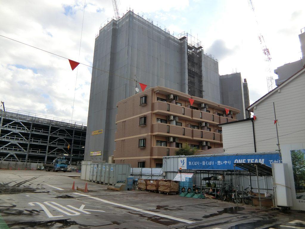「ザパークハウス 名古屋」の建設地