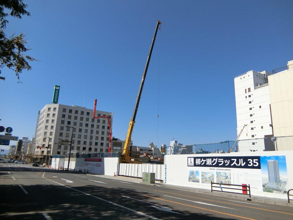「ライオンズ岐阜プレミストタワー35」の建設地