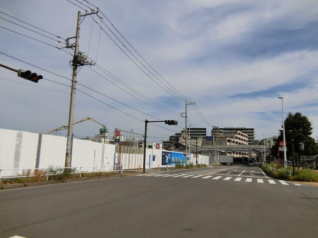 「ザ・パークハウス 横浜新子安フロント」の建設地