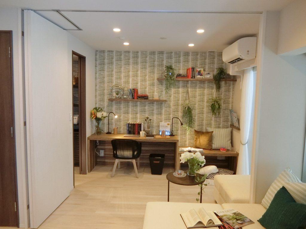「ザ・パークハウス 横浜新子安フロント」のモデルルーム