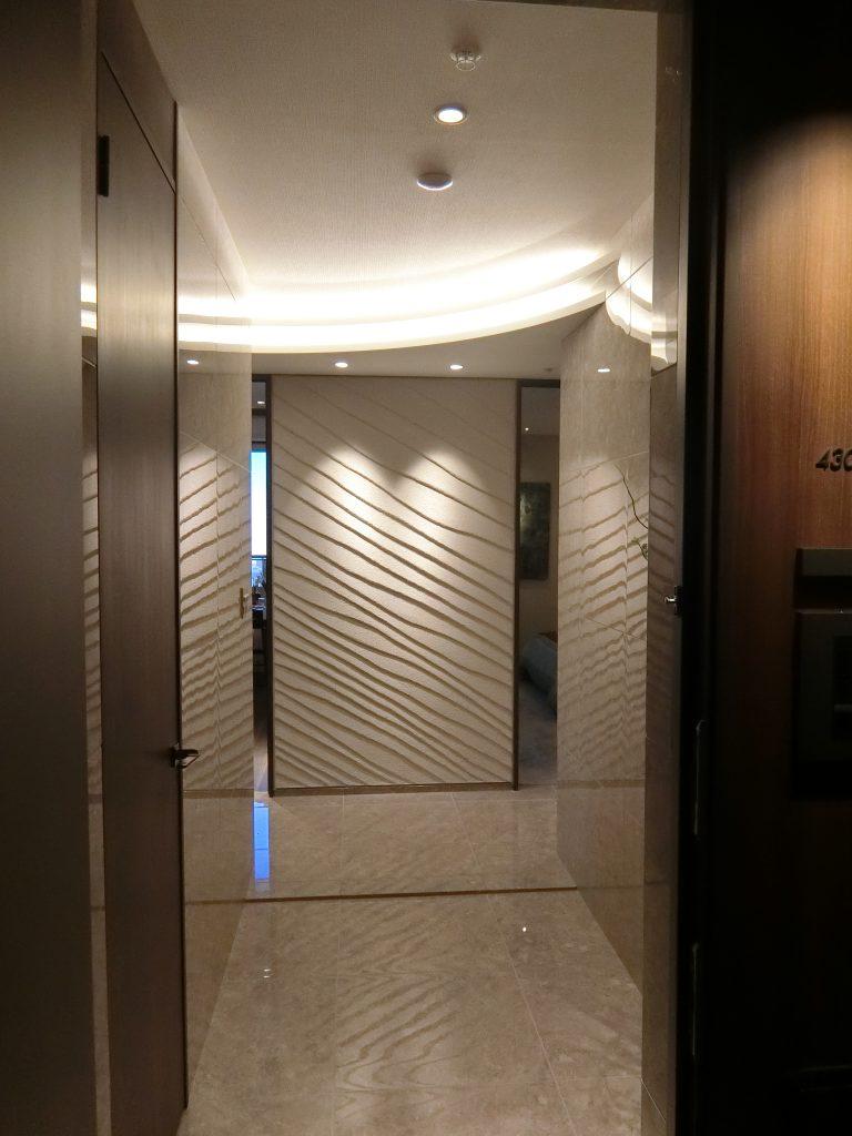 M-111Anwタイプのモデルルームの玄関ホール