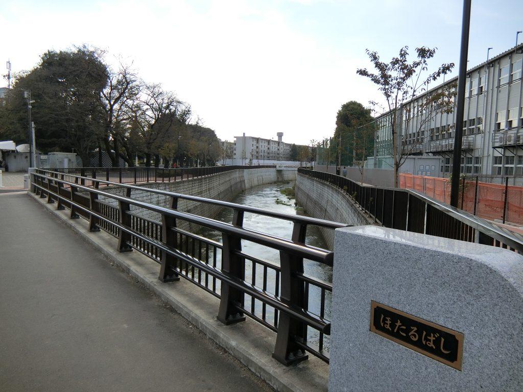 石神井川と石神井公園団地