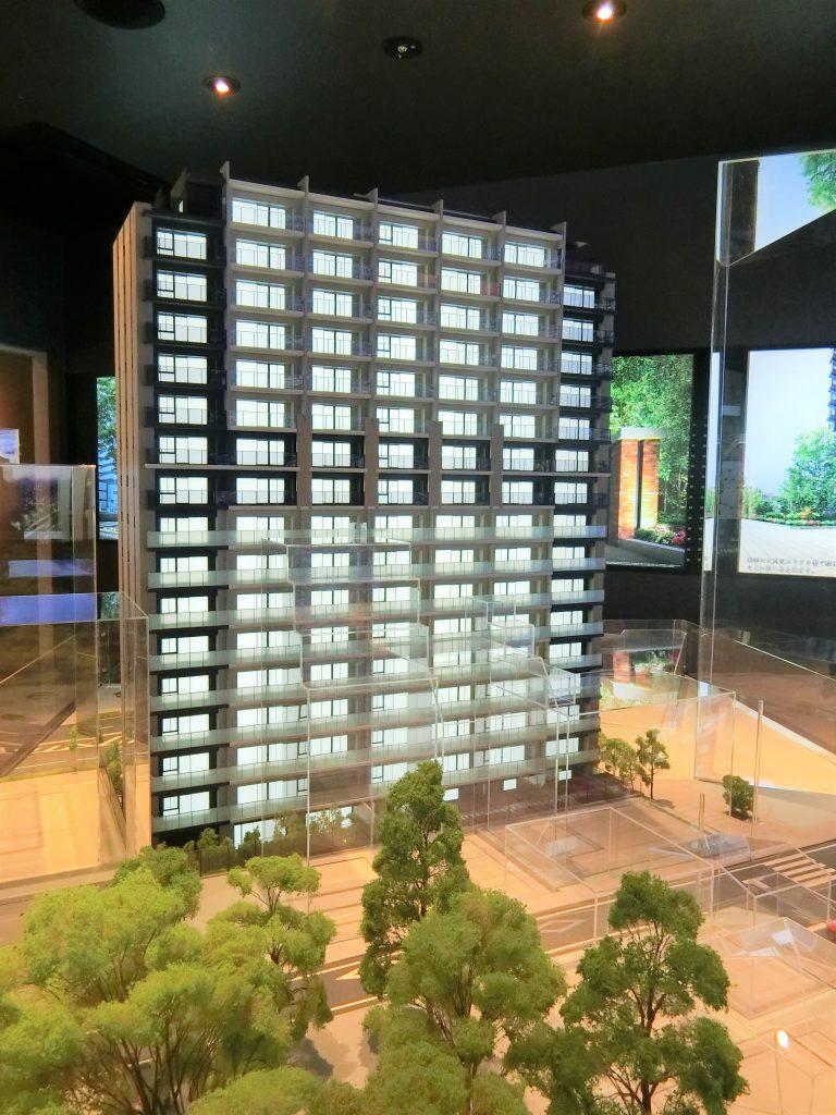 「ザ・パークハウス さいたま新都心」の完成予想模型