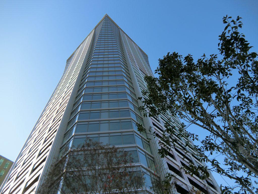 「パークコート渋谷 ザ タワー」の外観