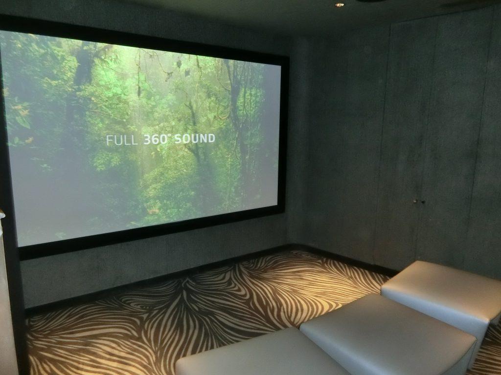 「パークコート渋谷 ザ タワー」のスクリーニングルーム