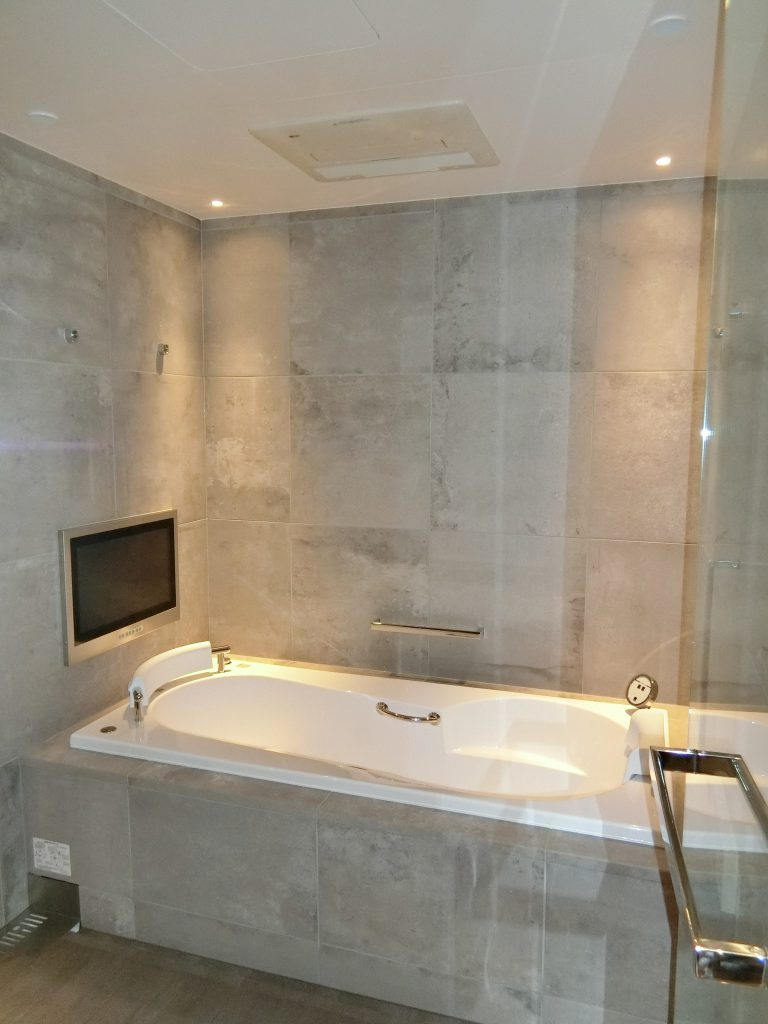 「パークコート渋谷 ザ タワー」の36階住戸の浴室
