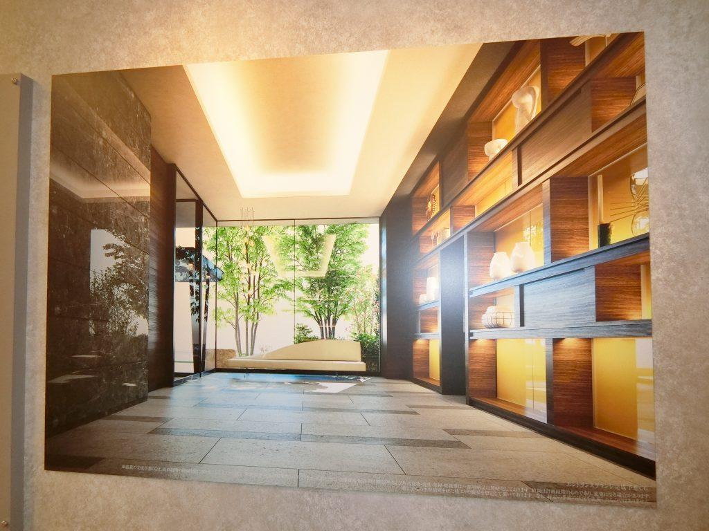 「グランドメゾンセンター北フロント」のモデルルームのプレゼンテーション
