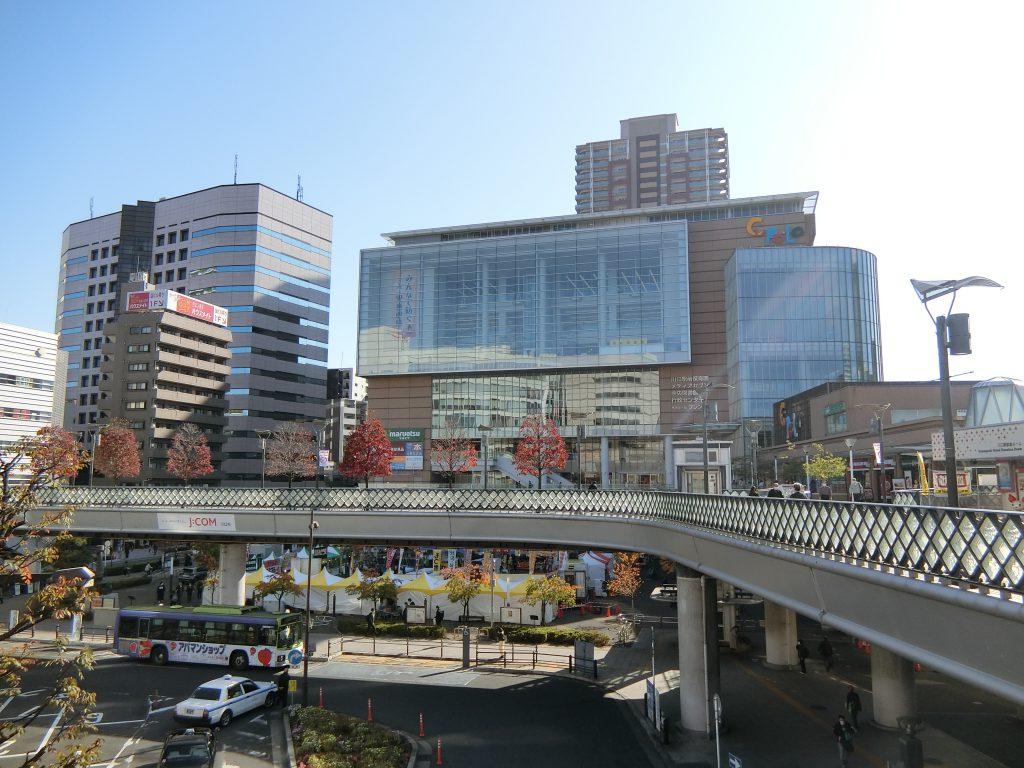 川口駅前の景観