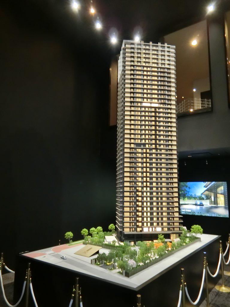 「NAGOYA the TOWER」の完成予想模型