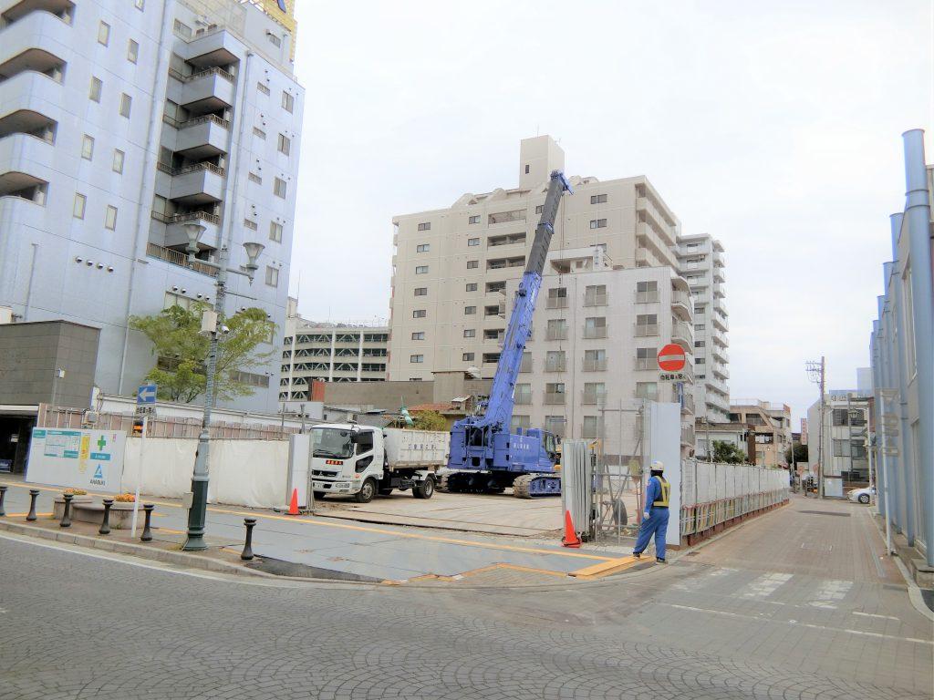 「サーパス高崎連雀町」の建設地